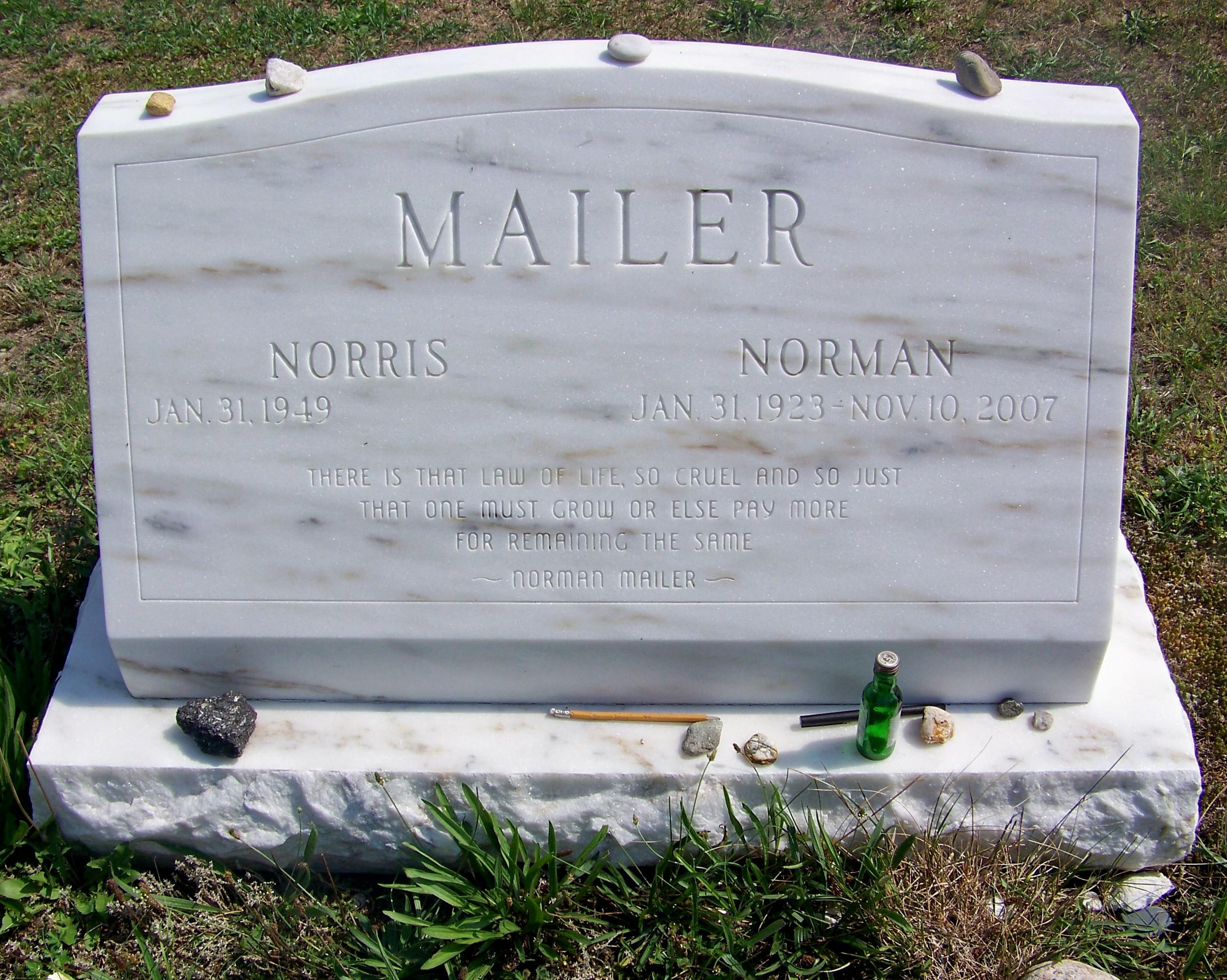 Резултат с изображение за Norman Kingsley Mailer