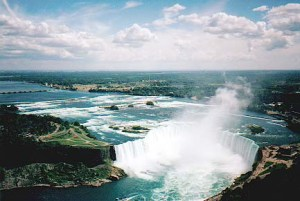 The world-famous Falls on the Niagara River has had more than its share of toxic wastes contaminating its waters over the past half century