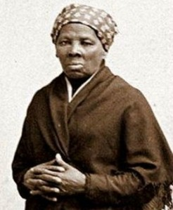 The great Harriet Tubman, who led countless slaves from America's south to freedom by following the northern star