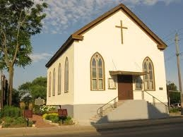 The historic Salem Chapel, also known as the B.M.E. Church, located in the Niagara, Ontario community of St. Catharines.