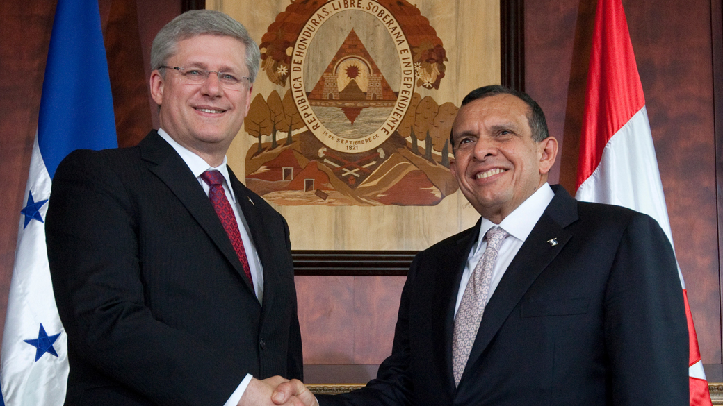Canada Supports A Regime In A Honduras That Oppresses And Kills Its