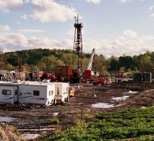 A gas fracking operation at work in rural Pennsylvania. Do we want this in rural Ontario?