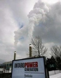 Nanticoke coal-burning energy plant in full flight, toxic emissions and all. Ontario has finally shut coal energy plants off.l