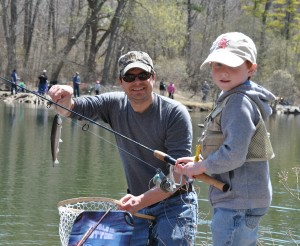 Having fun fishing at St. Johns Conservation Area pond, File photo courtesy of Niagara Peninsula Conservation Authority