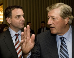 Ontario PC Leader Tim Hudak follws his former leader Mike Harris down the line. Kill everything to do with green energy or environmental protection and get back to 19th and 20th Century versions of coal, oil and nuclear.