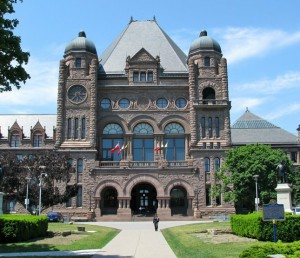 In case some of you so locked into your fucking social media sites don't know, this is the Queen's Park legislature. You might want to engage sometime.