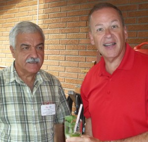 St. Catharines Mayor Brian McMullan and Cuban Ambassador Garmendía Peña at a previous annual Taste of Cuba gathering