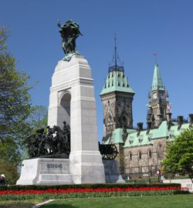 Ottawa's National War Memorial where tragedy began to unfold this October 22nd.