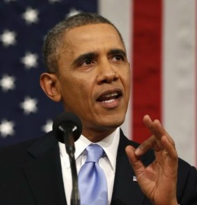 U.S. President Barack Obama includes call for more action on climate change in State of Union address.