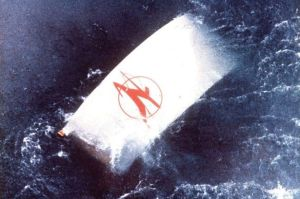A piece of the Air India jet found floating in the north Atlantic 30 years ago this June