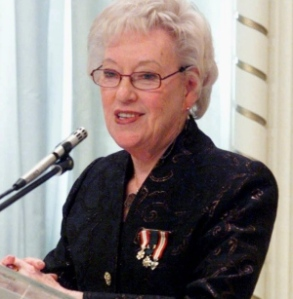 The late, great Canadian Conservative Party icon Flora MacDonald