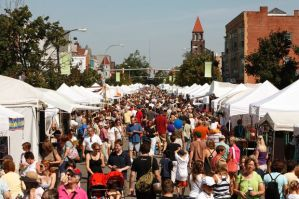 File photo of Elmwood Arts Festival in Buffalo, New York