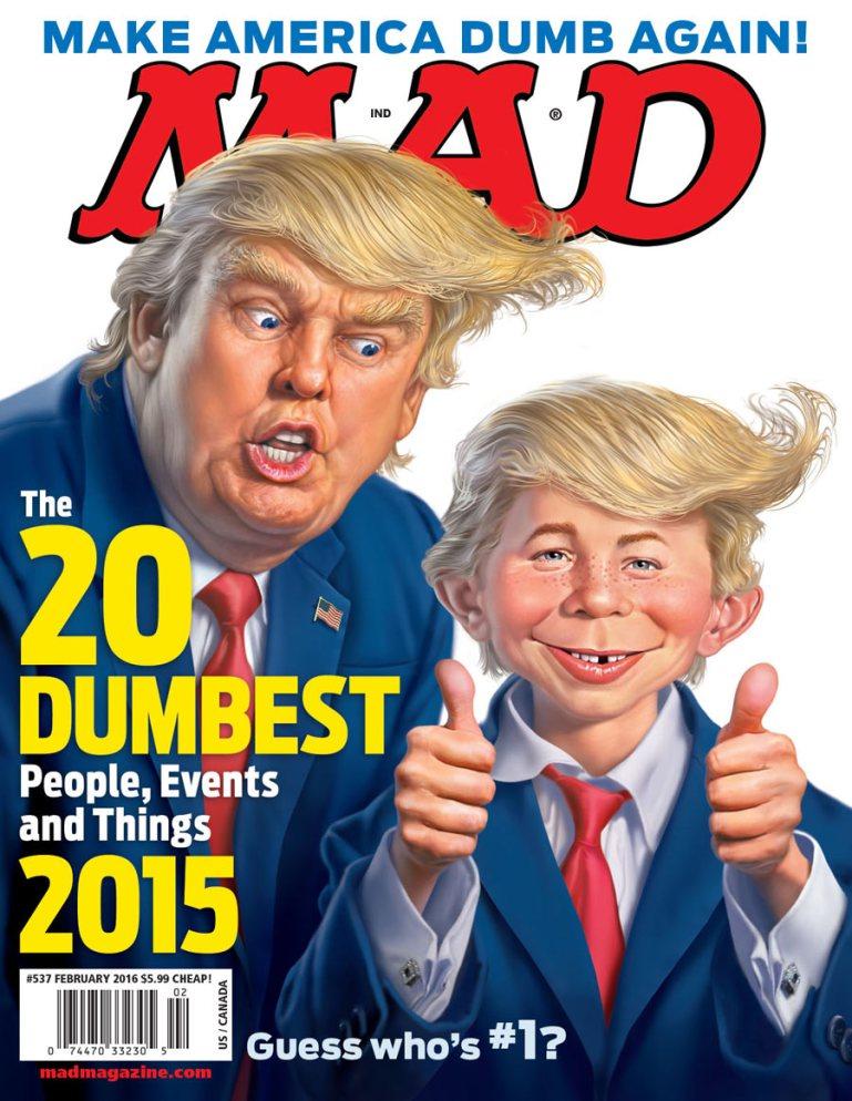 ... Mad Mag Donald Trump