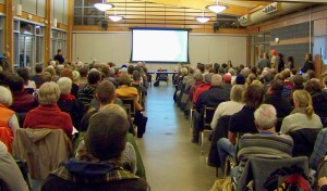 Hundreds gather at NPCA hosted meeting this January to speak up for wetlands, Photo by Doug Draper
