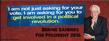bernie political revolution