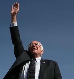U.S. Senator and presidential hopeful Bernie Sanders