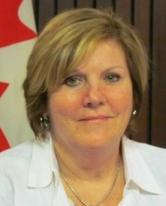 Cindy Forster, Provincial Representative for the Niagara, Ontario riding of Welland
