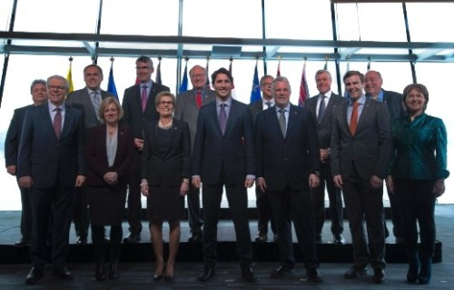 "What happened to the call for ""action now"" on climate change when Canada's first ministers met in Vancouver this March?"