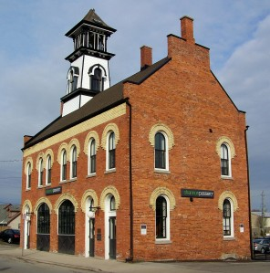 The historic 'Old Fire Hall', circa 1878, in the Niagara, Ontario City of Thorold getting Canada-wide exposure
