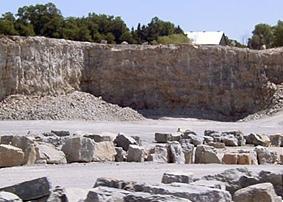 quarry pit