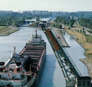 Open season for the Seaway system and Welland Canal in Niagara, Ontario.