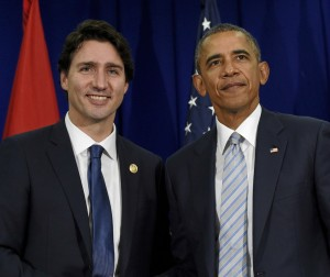 Canadian Prime Minister Justin Trudeau and U.S. President Barack Obama make climate change a focus of talks during state visit this March 10th in Washington.