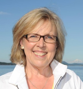 Canadian Green Party leader Elizabeth May
