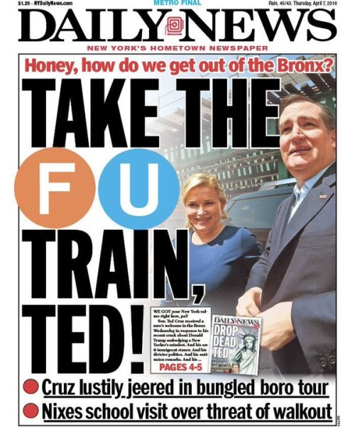 take the fu train ted