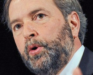 Canada's NDP Leader Tom Muclair will stay on until the party picks a successor.