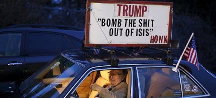 trump supporter bomb the shit out of isis
