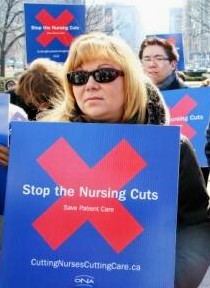 nurses ontario rally