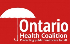 ontario health coalition logo
