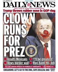Many started out last year calling him a clown, but so far it looks like he's getting the last laugh.