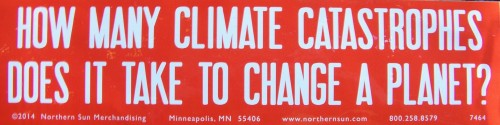 bumper sticker climage 2