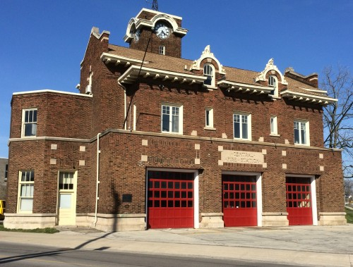 Welland's Central Fire Hall. Photo courtesy of Welland Hieritage Committee