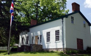 The Laura Secord homestead in the Niagara-on-the-Lake, Ontario community of Queenston. Niagara Parks photo