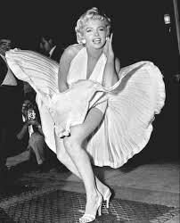 marilyn monroe the white dress