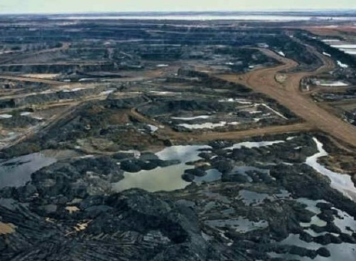 tar sands air shot