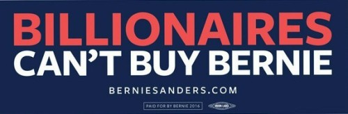 best billionaires cant buy bernie