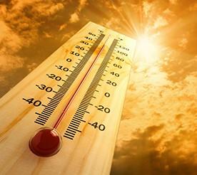 climate change temps