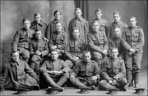 Some members of the ill-fated regiment.