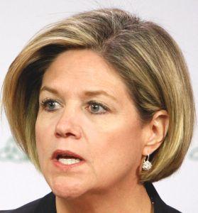 Ontario NDP leader Andrea Horwath