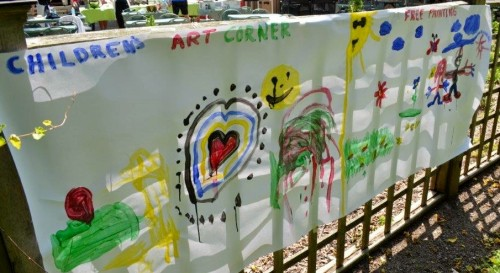 Gateway to a special 'Children's Art Corner' at the Niagara Parks Art Show. File photo courtesy of Niagara Parks Commission