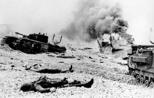 Death and destruction left on shores of Dieppe in August 2016
