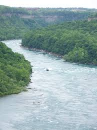 The lower Niagara River flowing between communities in New York and Ontario, File photo, Doug Draper
