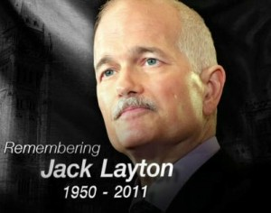 jack layton remembering