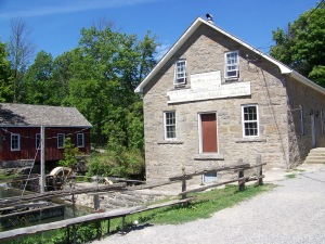 The historic Morningstar Mill site off Decew Road in the Niagara municipality of St. Catharines, Ontario. Photo by Doug Draper