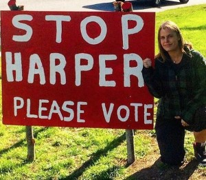 Large numbers of younger Canadians went to the polls in the 2015 federal election to turf out Harper. And why? They knew there future was at stake.