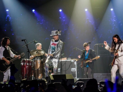 The Tragically Hip, with Gord Downie front and centre, perform the final show of their tour this August 20th in Kingston, Ontario.