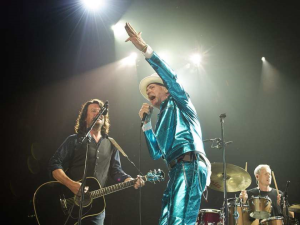 Gord Downie and Tragically Hip in performance